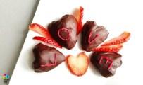 trukawki w czekoladzie