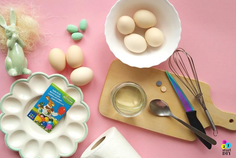 barwienie jajek sprytnym sposobem