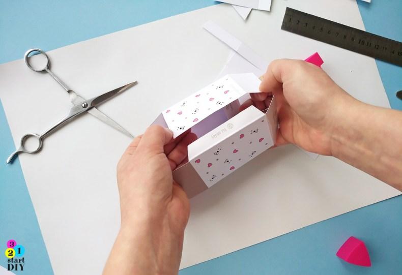 pudełeczka na słodycze, pudełka na prezenty, pudełka dla dzieci, pudełka do wydrukowania