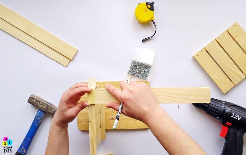 drewniana skrzynka