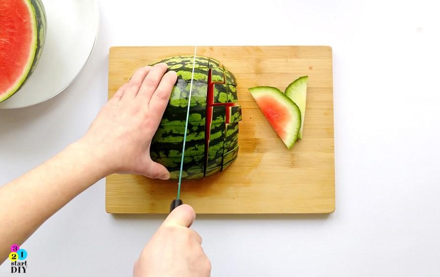 jak pokroić arbuza