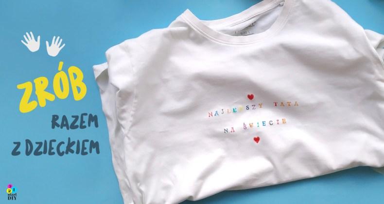 koszulka z własnym napisem