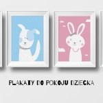 Plakaty do pokoju dziecka – zwierzaki słodziaki