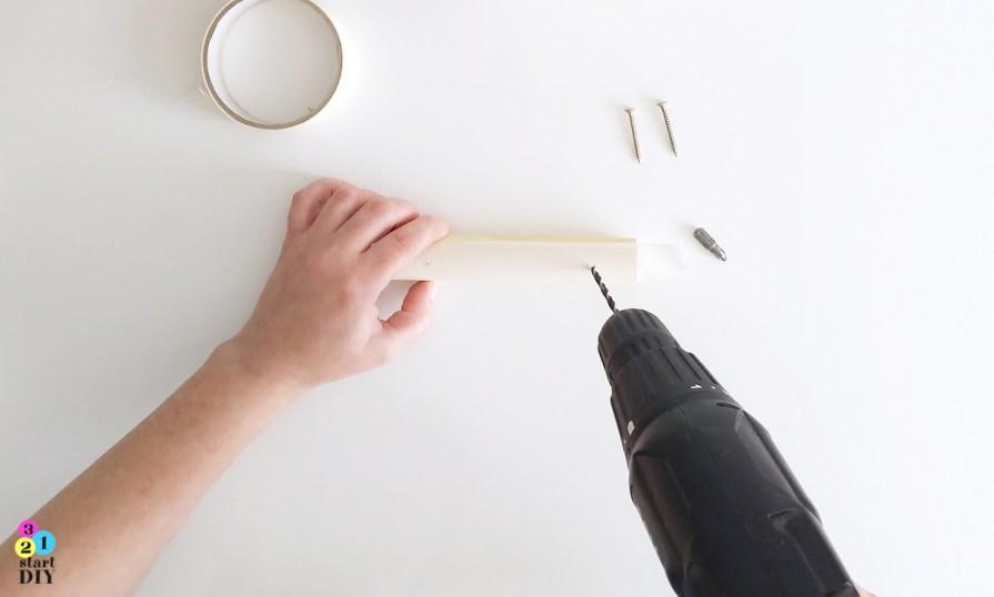 jak zrobić drewniane uchwyty do mebli