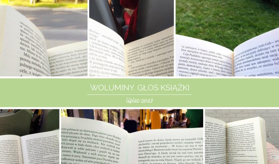 akcja woluminy Głos książki lipiec 2017