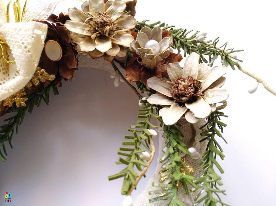 wianek bożonarodzeniowy diy