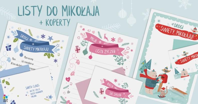 List do św. Mikołaja do druku, świąteczna lista życzeń