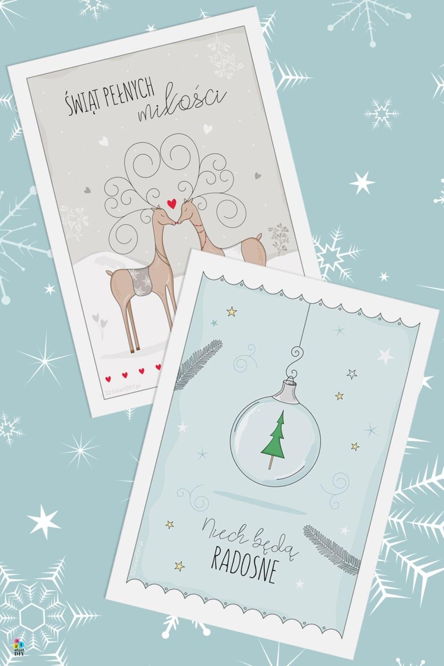 darmowe kartki świąteczne do druku