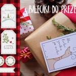 Bileciki do prezentów do druku – Boże Narodzenie 2017