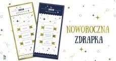 Wróżby na Nowy Rok 2018 - grafika do druku