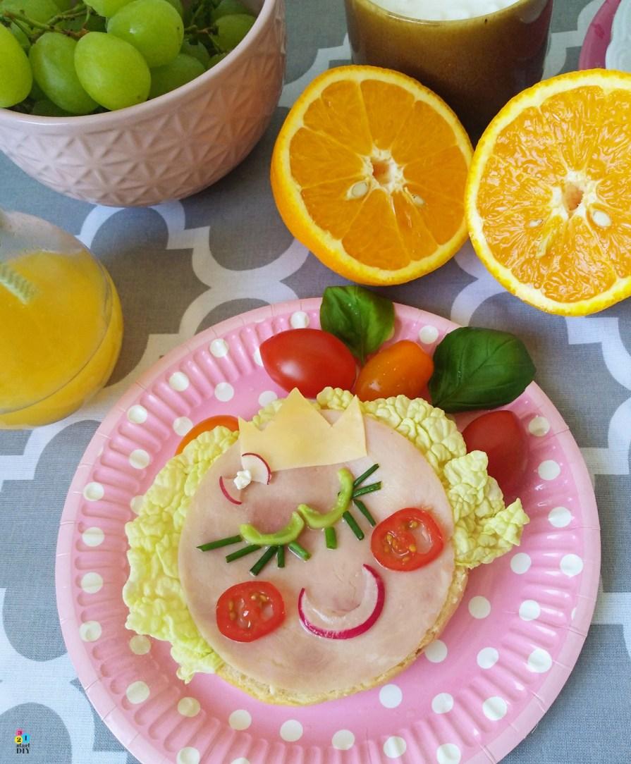 Kolorowe kanapki dla dzieci