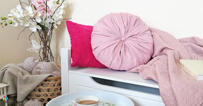 Okrągła poduszka dekoracyjna – zrób to sam