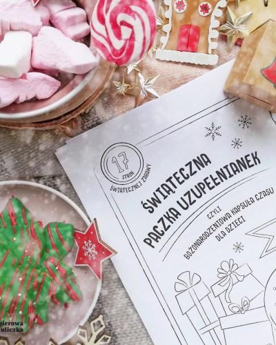 świąteczna zabawa do druku