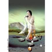 Title : Doris Izvernariu / cover Gala Dali Photoshop CS 6 by : danIzvernariu ©2013 ʘ 6014 NZL