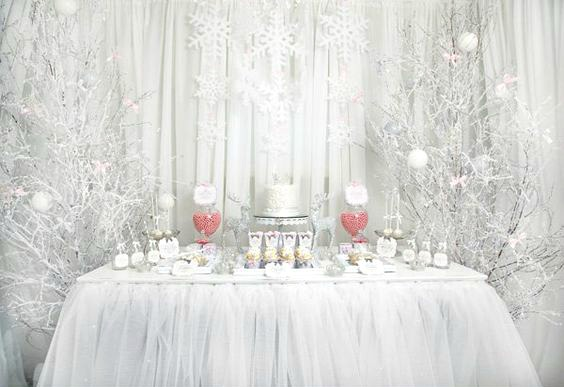 Magical Quinceaera Theme Winterland Fantasy