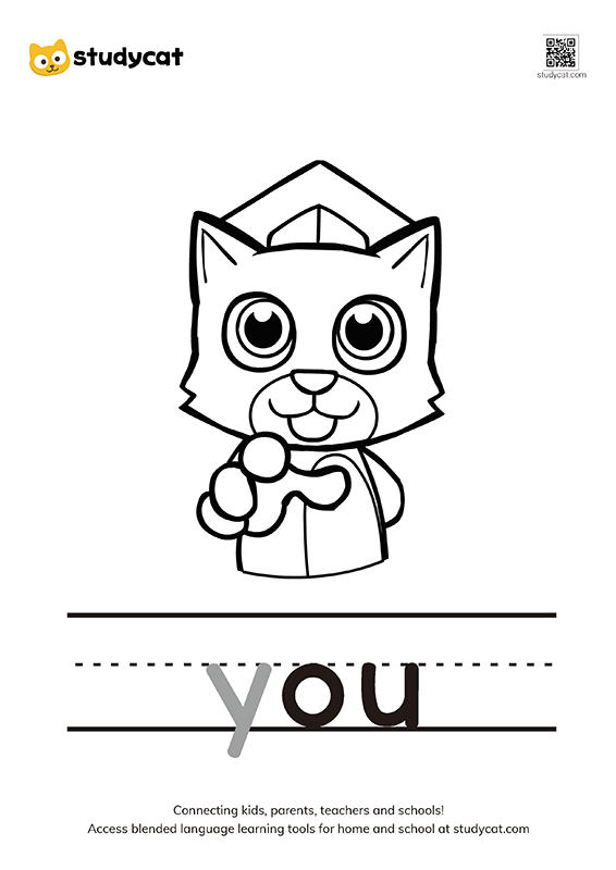 Letter Yy Colouring Worksheets