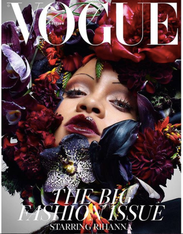 Rihanna for British Vogue September 2018