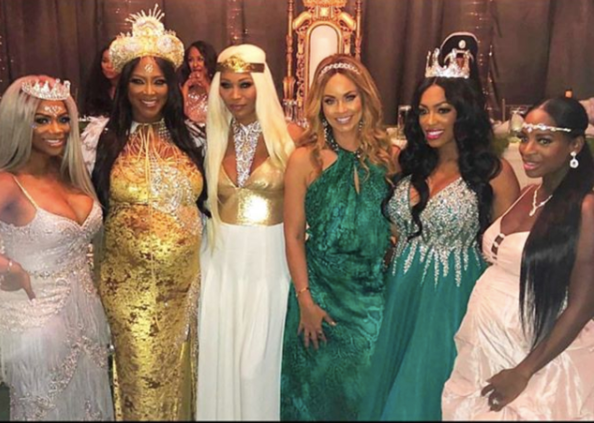 Kenya Moore's Baby Shower: RHOA Star Gives Fans A Sneak Peek
