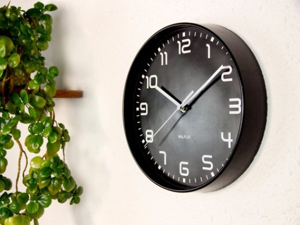 Home Office Clock Etsy