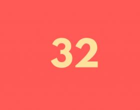 32 Letter Site Icon