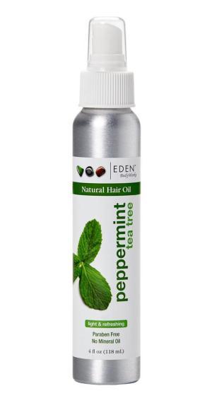 Eden BodyWorks Peppermint Tea Tree Natural Hair Oil