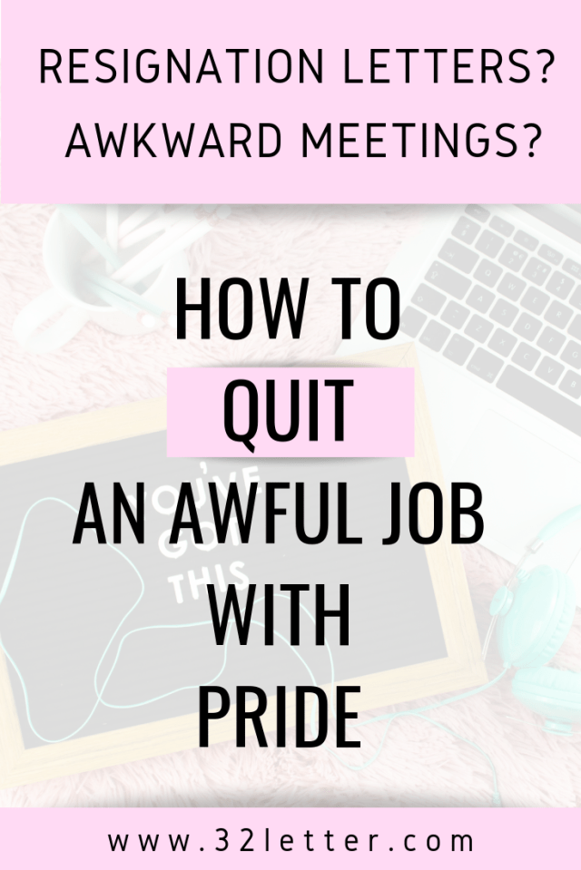 You might be rushing out the door after deciding to resign. It's still important to handle your transition with tact. Here are some tips to keep in mind when you're resigning for an awful job.