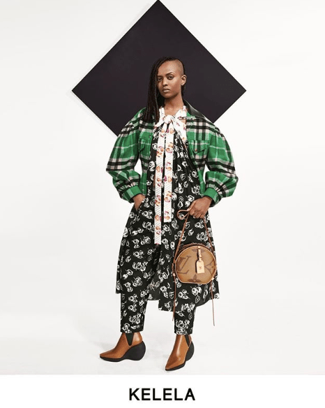 Singer Kelela stars in Louis Vuitton Pre-Fall 2019 lookbook.