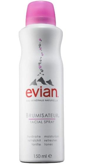 Best Facial Spray — EVIAN Brumisateur Natural Mineral Water Facial Spray