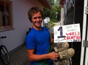 Troy Brosnan (Australia), Campeón Mundial Juvenil 2011.Foto: Dirt Mpora