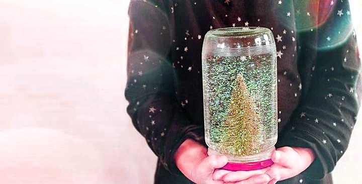 Как сделать снежный шар без глицерина