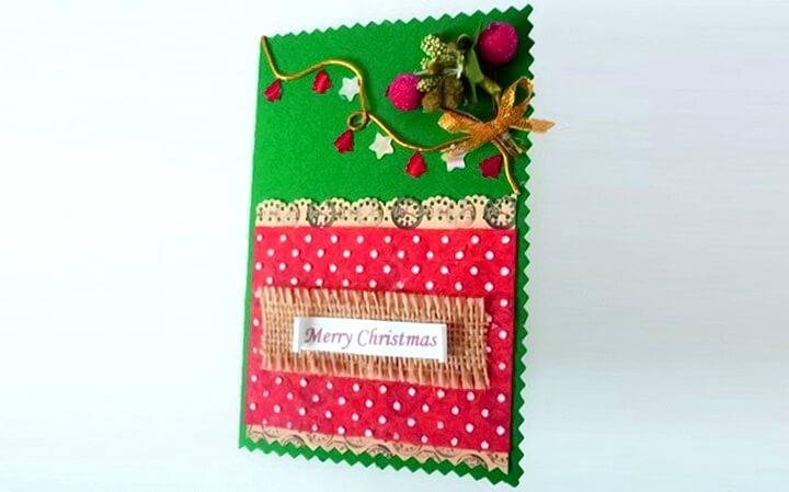 Пошталық ашық хат Рождество