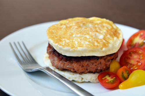 "Paleo Sausage Egg ""McMuffin"" Recipe"
