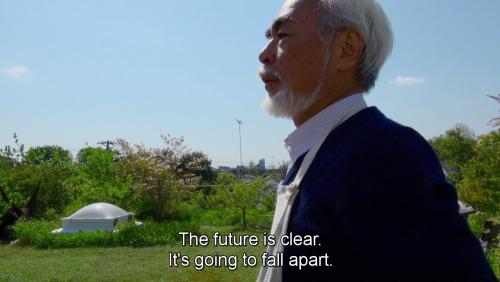 hayao miyazaki retired