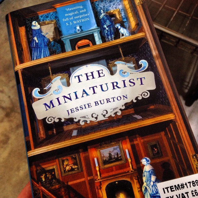 Just bought/in the process of buying The Miniaturist by Jessie Burton. Loved the blurb and adore the cover so it is win/win #theminiaturist #jessieburton