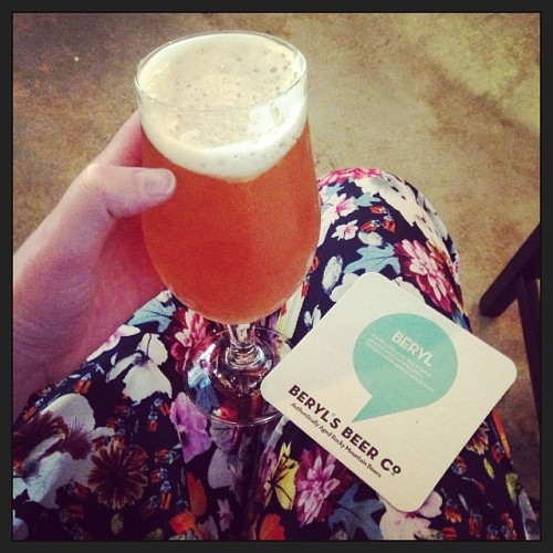 Flowery pants and brewery openings - that's what is happenin in Denver.<br /> #drinkandspoon #berylsbeerco #denver #beer #beerporn #instabeer #instagood #craftbeer #summer