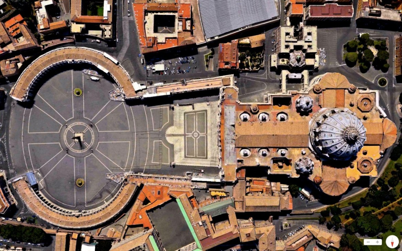 St. Peter's Basilica Vatican City 41°54′8″N 12°27′12″E