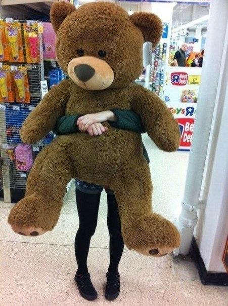 Gigantic Teddy Bear Tumblr