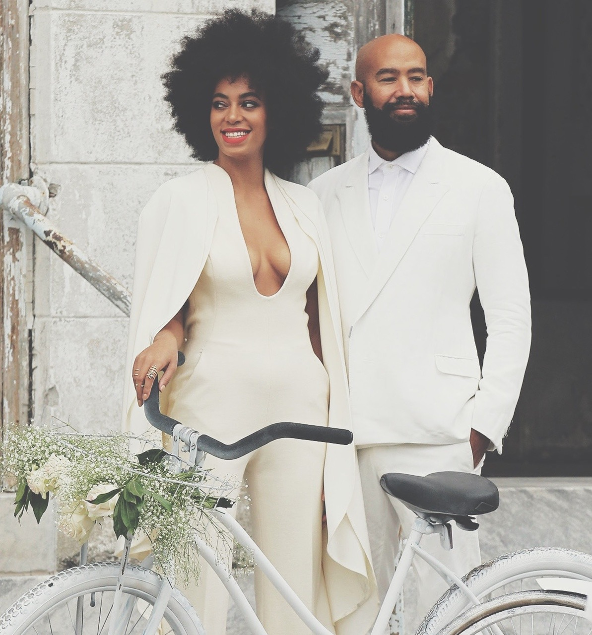 JUST MARRIED Solange And Alan Ferguson THE UNBOTHERED