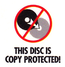 This disc is copy protected!