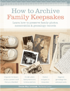 How to Archive Family Keepsakes cover
