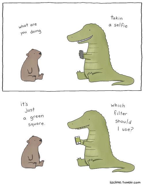 Illustration art funny animals artists on tumblr LizClimo