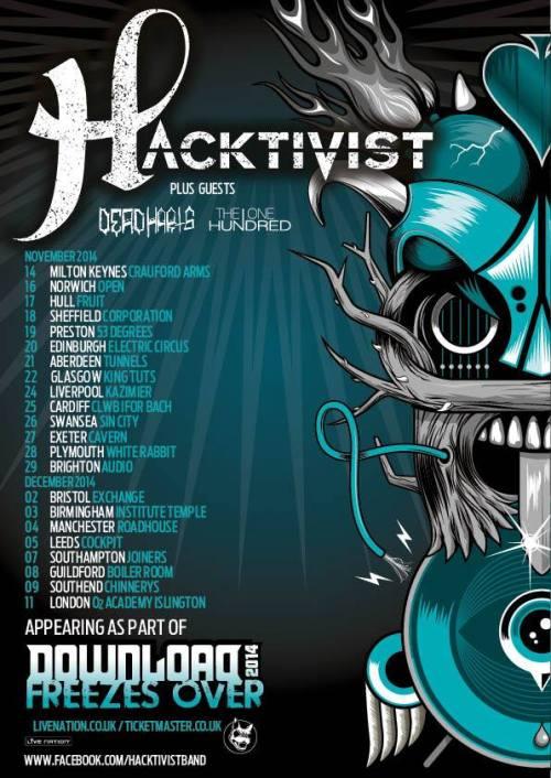 Hacktivist UK Tour Nov/Dec 2014