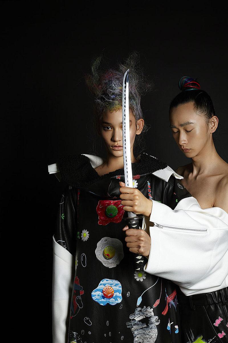 Mona Matsuoka and Shohei Yamashita by Shiraz Randeria for Wallpaper* (Thai Edition), October 2014.