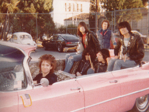 Ramones and Rodney Bingenheimer