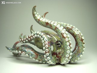 Weed Pipe in the Shape of an Octopus