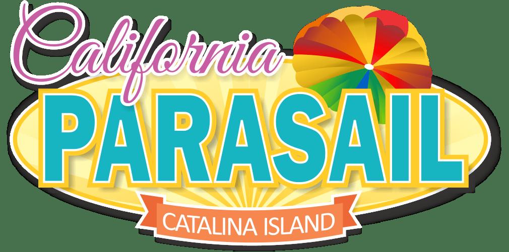 colorful parasailing company logo design