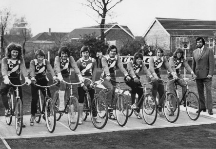 The Bombers first team squad in 1974