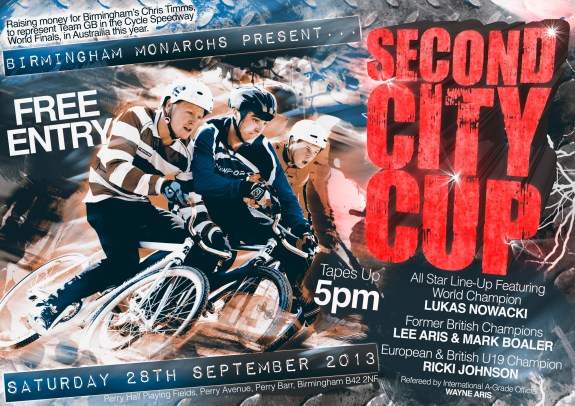 Second City Cup Poster