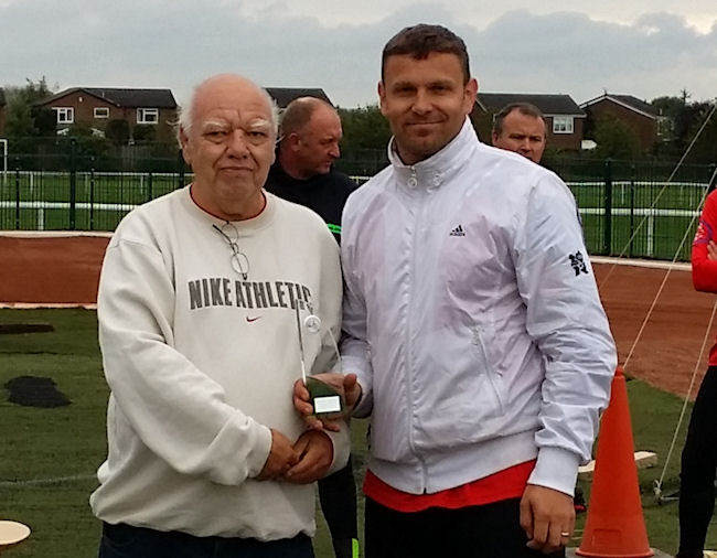 Over 40s Winner - Mark Winwood