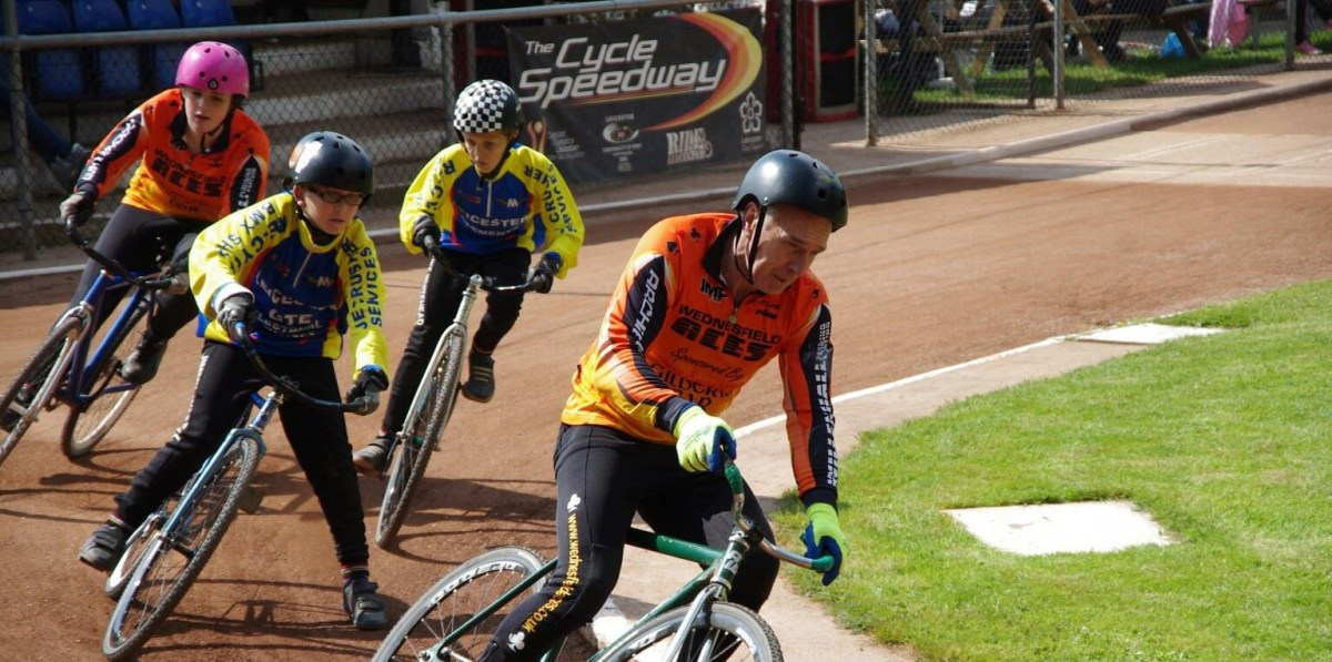 RIDER NEWS: Mick Aris - 50 years in Cycle Speedway